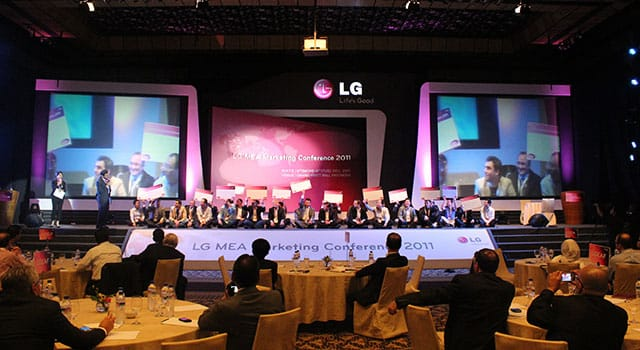 LG MEA Marketing Conference 2011