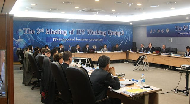 The 3rd Meeting of IP5 Working Group2
