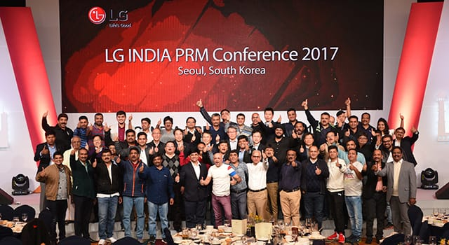 LG INDIA PRM Conference 2017