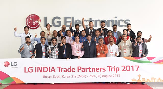 LG INDIA Trade Partners Trip 2017